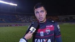Felipe lamenta derrota em casa mas já pensa na Copa do Brasil