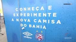 TV Bahêa - Veja o Dia do Bahia com a apresentação dos novos uniformes do clube