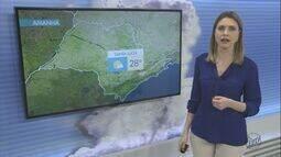 Confira a previsão do tempo para a região de São Carlos e Araraquara