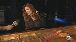 Cantora italiana Chiara Civello se apresenta no Sesc de São Carlos