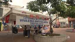 Greve dos vigilantes afeta serviços essenciais na capital