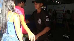 Segurança é reforçada durante os jogos escolares em Balsas