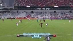 Atlético-PR e Flamengo empatam em 1 a 1 pela 3ª rodada do Campeonato Brasileiro