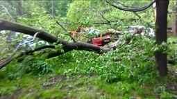 Tempestade deixa 16 mortos em Moscou