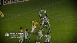 Redação AM: Gilberto Júnior narra o gol do Juventude