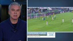 Saraiva analisa duelo entre Chapecoense e Grêmio e vitórias dos gaúchos na Série B