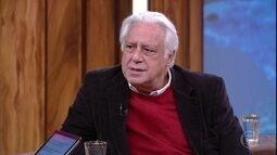 Antonio Fagundes fala sobre recusa às leis de incentivo para realização de espetáculo