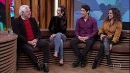 Antonio Fagundes fala sobre trabalho ao lado da família