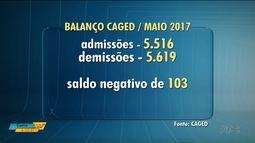 Saldo de contratações e demissões é positivo no Paraná