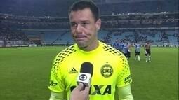 Wilson lamenta derrota e destaca mérito do Grêmio