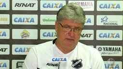 Geninho fala das dificuldades de jogar contra o Boa Esporte em Varginha