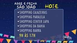 Serviço: veja o que abre e fecha durante o feriado em Salvador