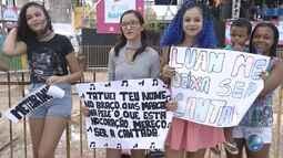 Luan Santana é uma das atrações do São João de Paripe; fãs aguardam o cantor