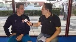 Bruno Fratus fala sobre ouro nos 50m livre no Torneio Sette Colli, em Roma