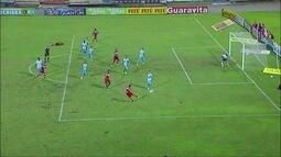 Os gols de CRB 2 x 1 Paysandu pela 10ª rodada da Série B do Campeonato Brasileiro
