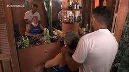 Vidraceiro e barbeiro há cinco anos decidiu investir no que sabe fazer; veja no Conexão CE