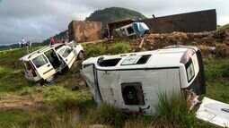Dono de carreta que causou tragédia na BR-101 é preso e quatro feridos seguem internados