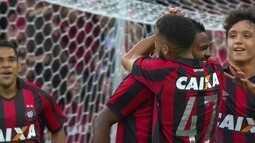 Os gols de Atlético-PR 4 x 1 Vitória pela 10ª rodada do Brasileirão 2017