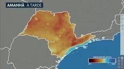 Confira a previsão do tempo para a quarta-feira (28) em São Paulo