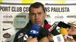 Carille fala de jogo do Corinthians contra o Patriotas pela Copa Sul-Americana