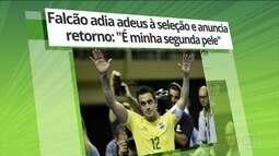 Falcão desiste de se aposentar da Seleção Brasileira de futsal