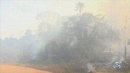 Fumaça e poluição pode prejudicar população de Ji-Paraná em julho