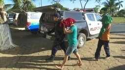 Quase 50 pessoas são presas após invadirem e destruírem fazenda em Cujubim, RO
