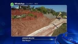 Alça de acesso da Raposo Tavares continua interditada após deslizamento de terra