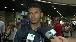 Pio comemora boa fase após chance como titular do Ceará