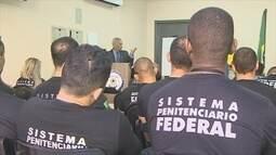 Agentes do Presídio Federal de Poro Velho participam de paralisação nacional