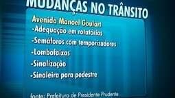 Sistema viário de Presidente Prudente passará por melhorias