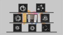 Arte: confira obras de Vilma Sonáglio, na mostra '...Sem Início Nem Fim...Sempre...'