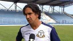 Novo técnico do time Macaé