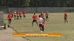 Joinville enfrenta o Volta Rodando com mudanças na equipe