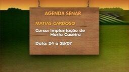 Confira agenda de cursos oferecidos pelo Senar