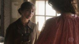Cecília conta a Amália sobre sua vida com sua mãe