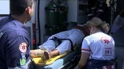 Um homem morre e três ficam feridos no Mercado Thales Ferraz em Aracaju