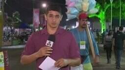 Repórter Lidson Almeida fala ao vivo da Expoacre e traz as novidades da 1ª noite de festa