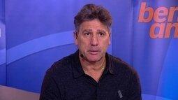 Renato Gaúcho fala sobre filosofia de jogo do Grêmio