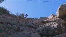 Rondônia TV volta no trecho da estrada da Estrada de Ferro que havia desmoronado