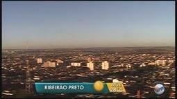 Massa de ar seco predomina nesta quarta-feira (26) na região de Ribeirão Preto