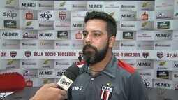 Rodrigo Fonseca comenta o desempenho do Botafogo-SP na Série C