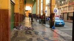 Morador de rua é encontrado morto em Petrópolis, RJ, suspeito de agressão foi preso