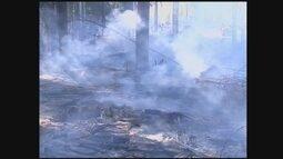 Com tempo seco, Corpo de Bombeiros alerta para risco de queimadas