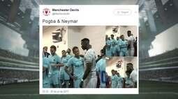 """Luan, Cuca e Neymar são os destaques do """"Giro pelas Redes"""""""
