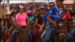 Cavalgada e missa dos vaqueiros aconteceu nesta quinta-feira em Paranamirim
