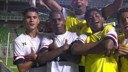 Os gols de Flamengo 1 x 3 São Paulo pela final da Taça BH