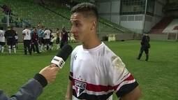 Antony comenta título do São Paulo na Taça BH