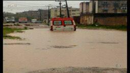 Fortes chuvas preocupam moradores da região metropolitana do Recife