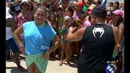 Concurso de dança do É do Pará agita Marudá